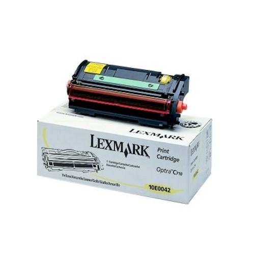 Lexmark Original Toner 10E0042 für Drucker Optra C710, C710dn, C710n