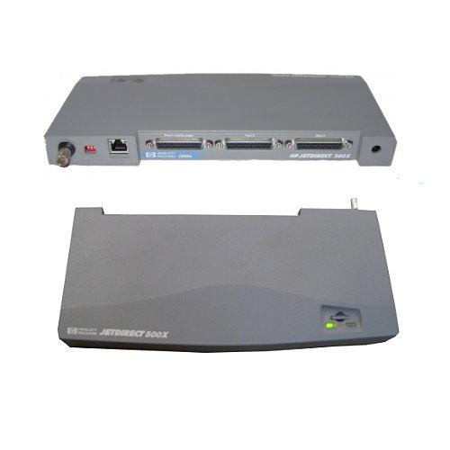 HP Jetdirect 500x J3265A Drucker Netzwerkkarte ohne Netzteil  gebraucht
