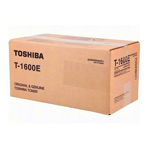 Toshiba Original Toner T-1600E für Drucker e-STUDIO16, e-STUDIO160, e-STUDIO 16