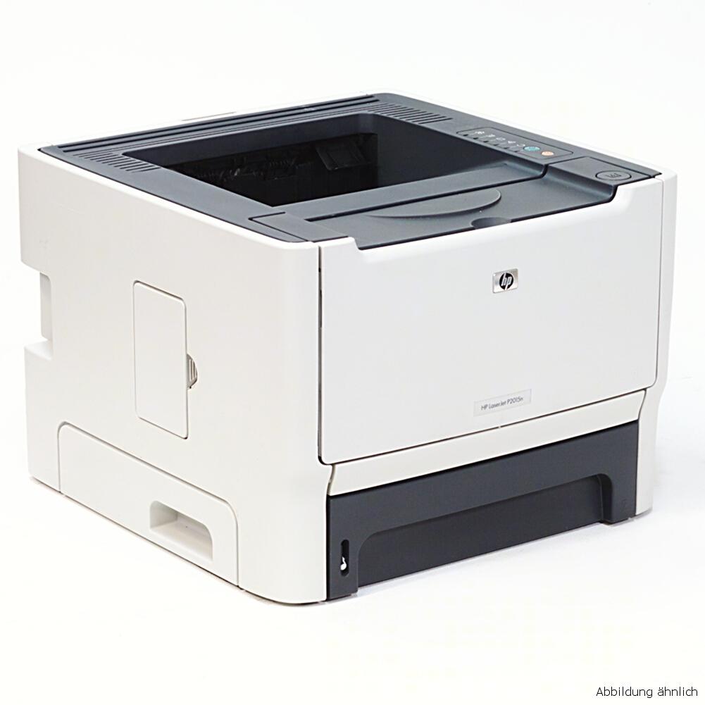 HP Drucker P2015N Laserjet Netzwerk Laserdrucker gebraucht