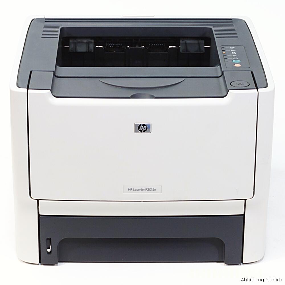 HP Laserjet P2015D Drucker Duplex Laserdrucker gebraucht unter 5.000 Seiten gedruckt