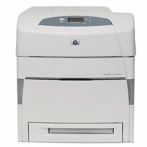 HP 5550 DN Drucker DIN A3 Laserjet Laserdrucker gebraucht 5550DN 62385 Seiten