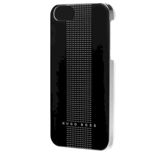 Hugo Boss Dots schwartz iPhone 4 / 4S Handytasche Cover