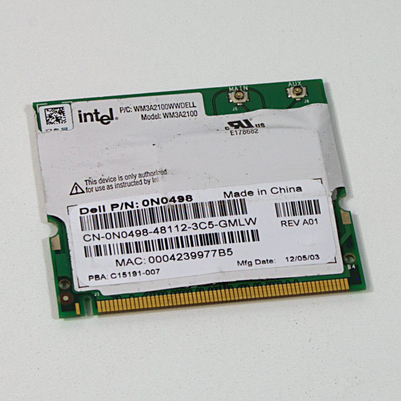 Intel 0N0498 WLAN Modul WM3A2100 / WM3A2100