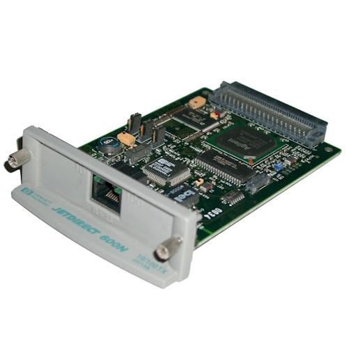 HP Jetdirect 600N J3113A Drucker EIO Netzwerkkarte Printserver gebraucht