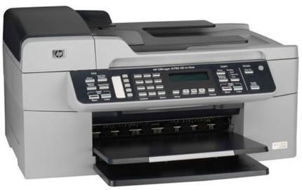 hp officejet j5780 drucker fax kopierer scanner usb ebay. Black Bedroom Furniture Sets. Home Design Ideas