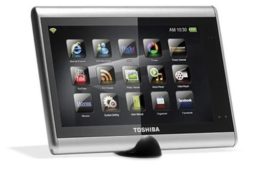 toshiba journ e touch silber multimedia tablet pc wlan ebay. Black Bedroom Furniture Sets. Home Design Ideas