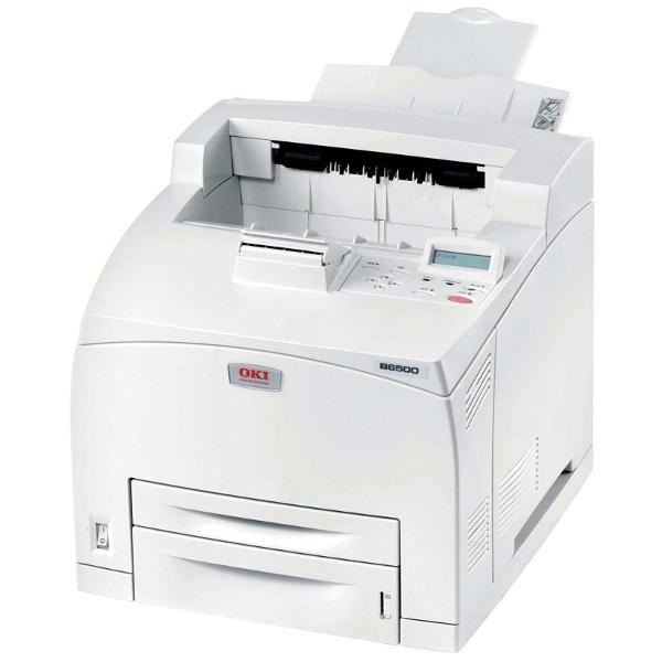 B-Ware OKI Drucker B6500DN - Netzwerk & Duplex   /  54122  Seiten / Laserdrucker