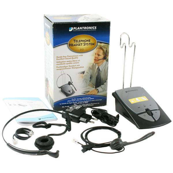 Plantronics Headset S12 Telefon-Headset RJ10-Buchse schnurgebunden / 5033588015123