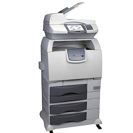Lexmark Color Drucker X782e /  245368  Seiten / Multifunktionsdrucker Farblaserdrucker