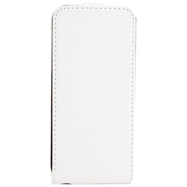 Xqisit  Wallet Case Schutzhülle Handytasche Cover für iPhone 5/5s - weiss / 4029948003764