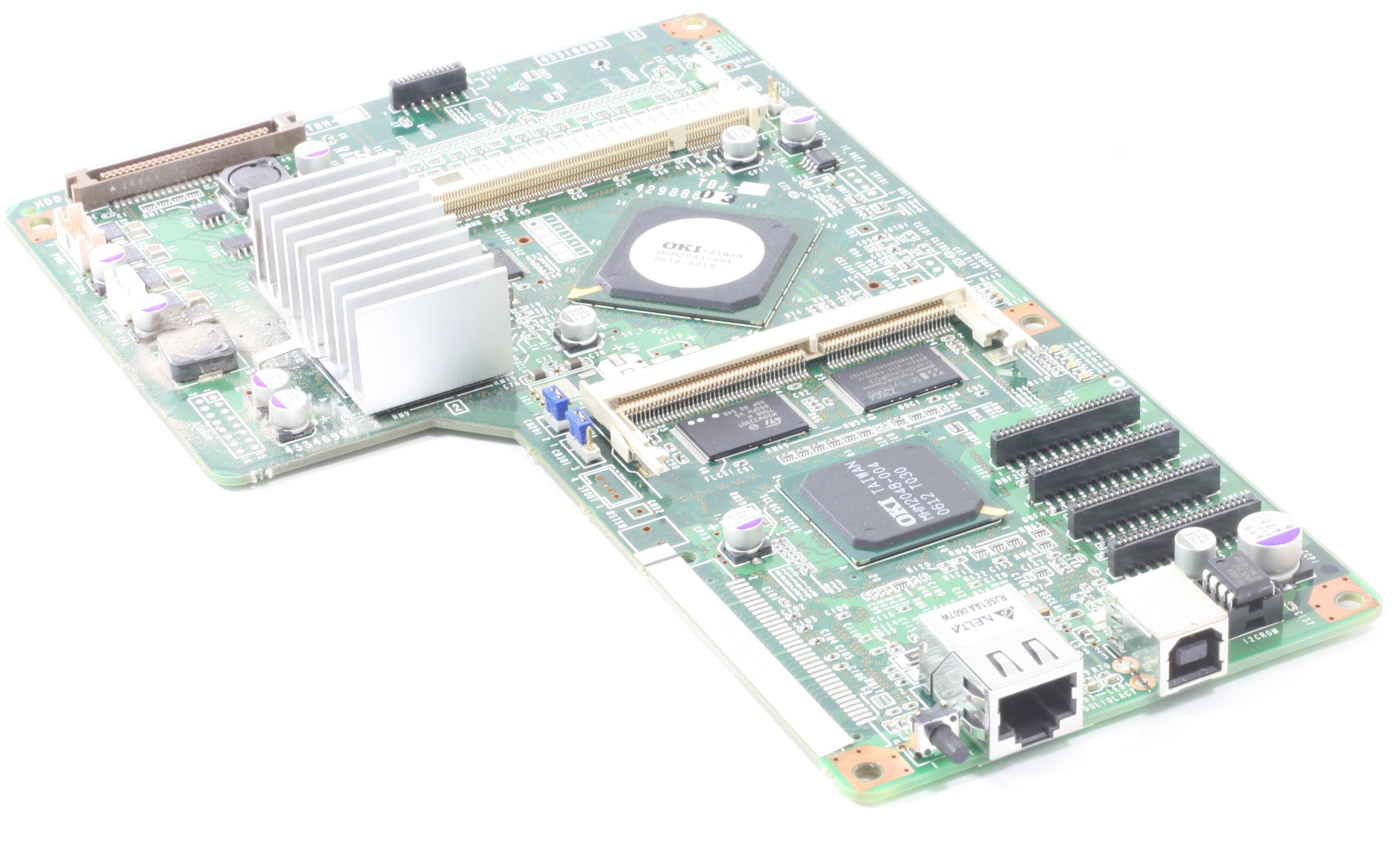 OKI Formatter 43318099 Board für C5900 C5900N C5900DN gebraucht