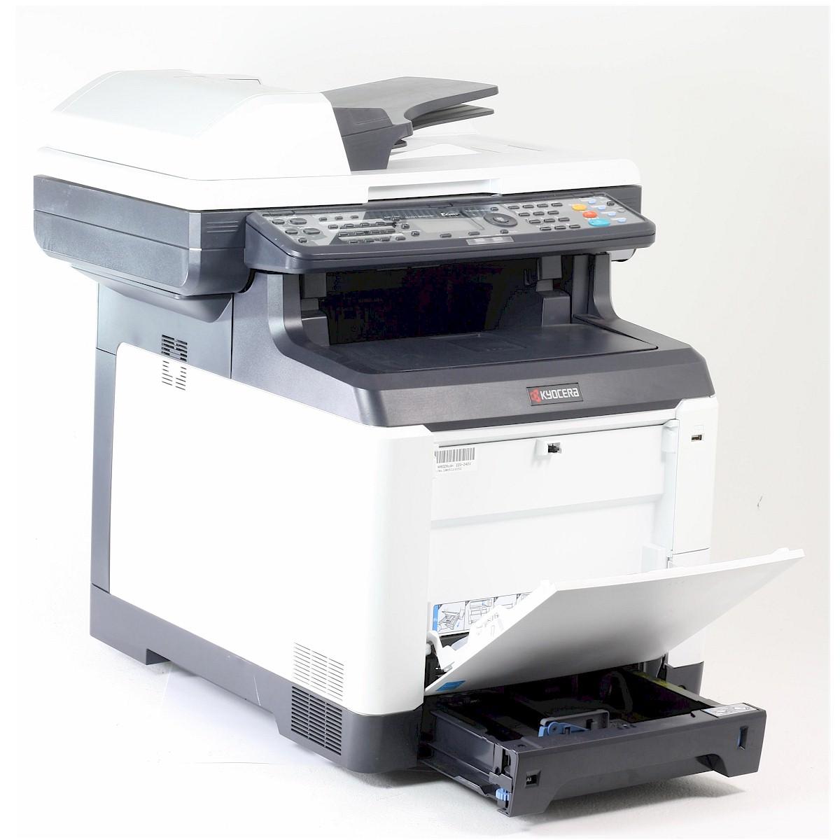 kyocera fs c2126 mfp drucker laserdrucker kopierer scanner fax color gebraucht ebay. Black Bedroom Furniture Sets. Home Design Ideas