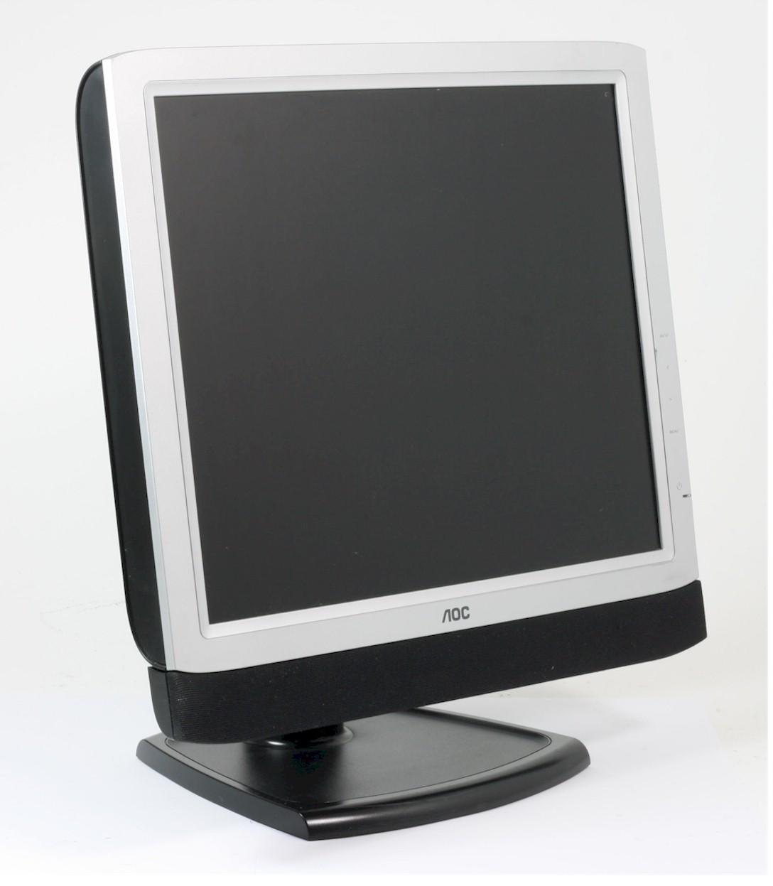 "AOC LM929 Bildschirm 19 Zoll Monitor 48,3 cm LCD Flachbildschirm TFT 19"" gebraucht"
