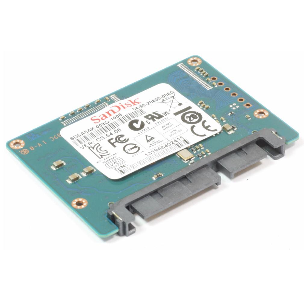 HP Druckerspeicher SDSA5AK-008G Speicher 8GB SSD Laserjet M601 M602 M603 gebraucht