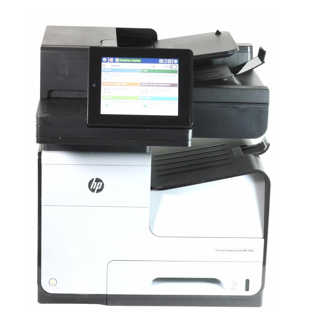 HP Drucker MFP X585 DN Officejet Enterprise B5L04A Tintenstrahldrucker