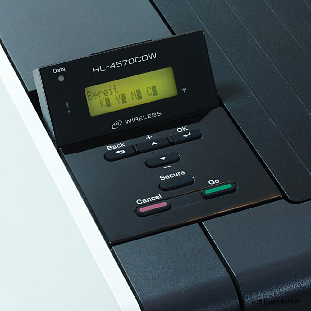 Brother Drucker HL-4150CDN Laserdrucker Farblaserdrucker gebraucht unter 30.000 Seiten