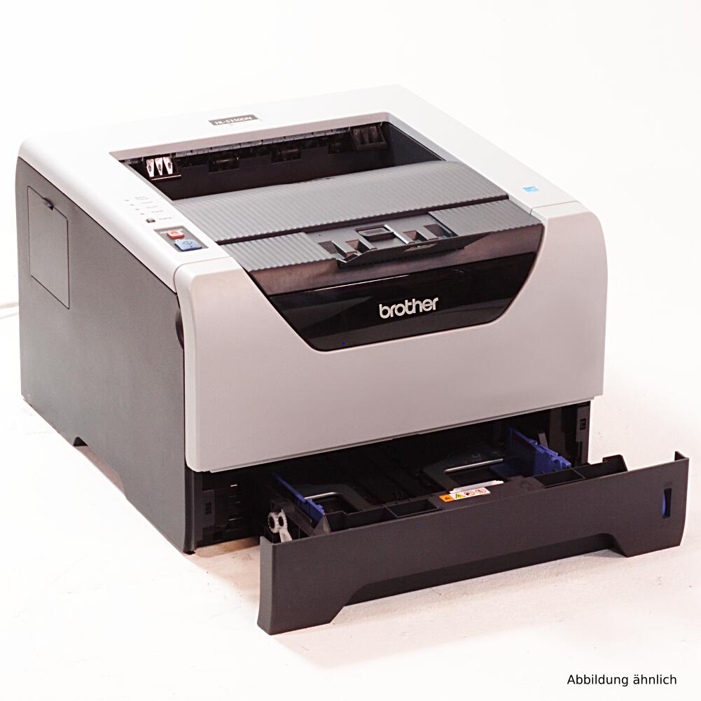 Brother HL-5350DN Drucker Duplex Netzwerk Laserdrucker gebraucht