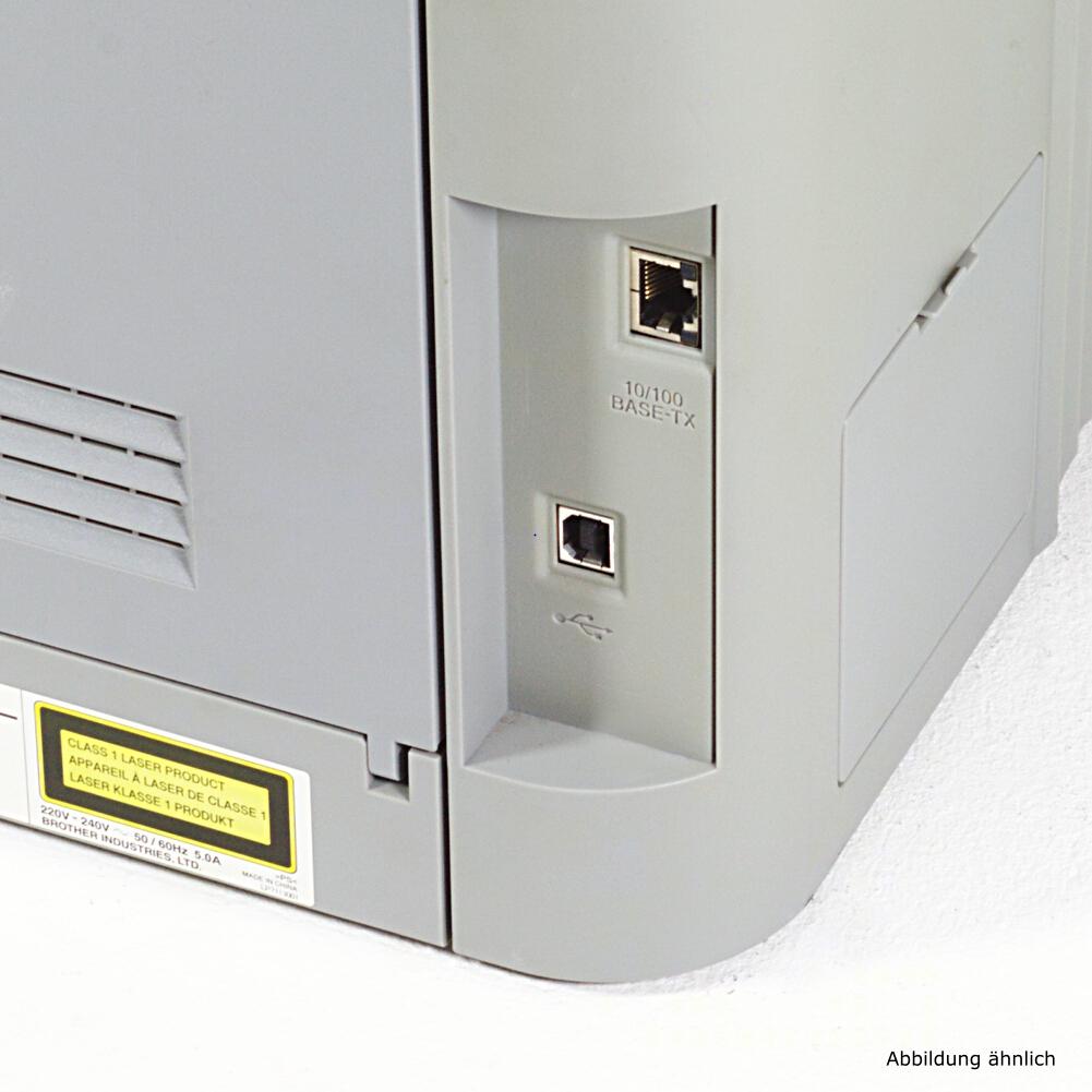 Brother Color Drucker DCP-9040CN Laserdrucker Kopierer Scanner Fax Color gebraucht /  5970 seiten