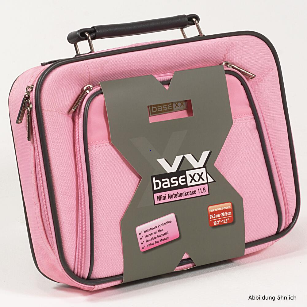 Dicota Notebooktasche BaseXX 11.6 Zoll Mini Tasche Pink N24068P für Notebook iPad