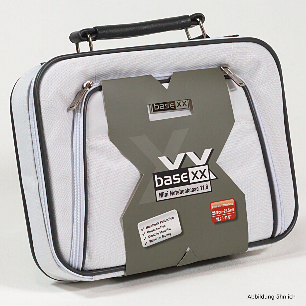 Dicota Notebooktasche BaseXX 11.6 Zoll Mini Tasche Weiss N24058P für Notebook iPad