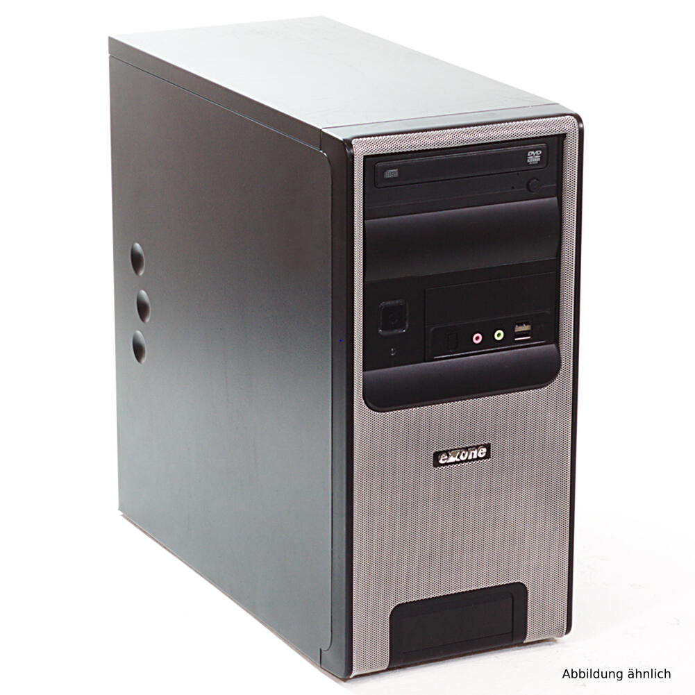 Exone Computer Minitower PC AMD  Athlon II X2   240 - 2x 2,8GHz  160GB 4GB  DVD-ROM