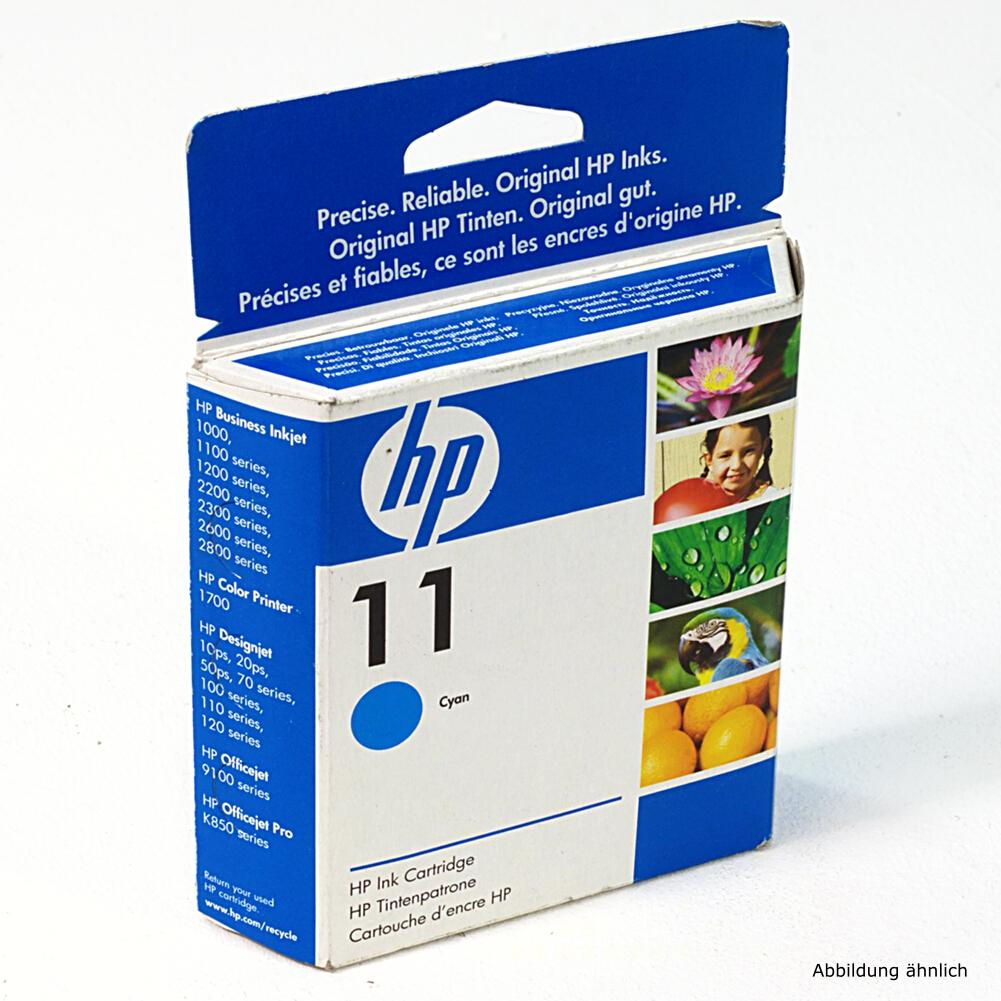 HP Original Druckerpatrone 11 Cyan C4836A Drucker 2000C 2600 815MFP 9130 10PS