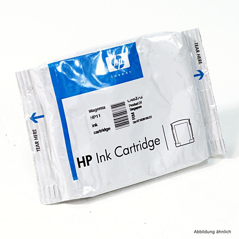HP Original Druckerpatrone 11 Magenta C4837A Drucker 2000C 2600 815MFP 9130 10PS