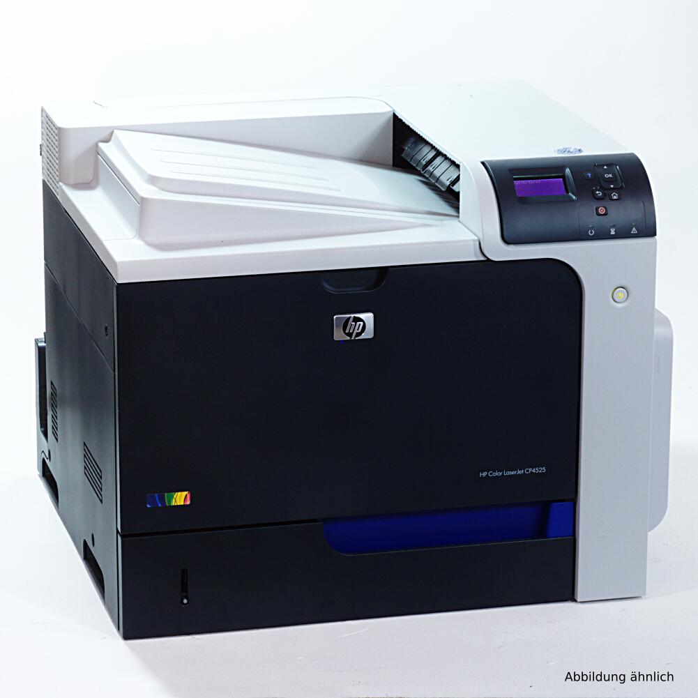 HP Drucker CP4525N Color Laserjet  Netzwerk Laserdrucker 46593 Seiten
