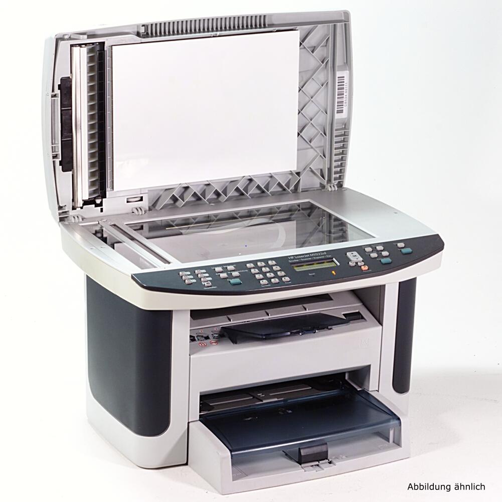 hp drucker laserjet m1522n laserdrucker kopierer scanner fax gebraucht ebay. Black Bedroom Furniture Sets. Home Design Ideas