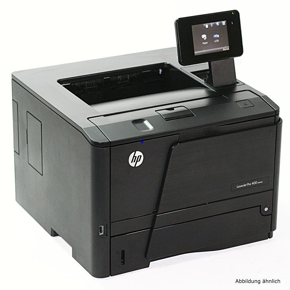 HP Drucker M401dn Laserjet Pro 400 ePrint AirPrint gebraucht unter 100.000 Seiten