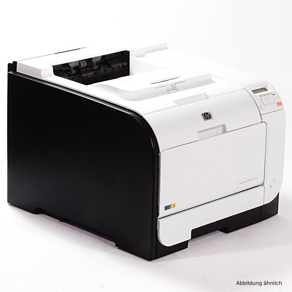 HP LaserJet Pro 400 M451DN Drucker Laserdrucker gebraucht unter 40.000 Seiten