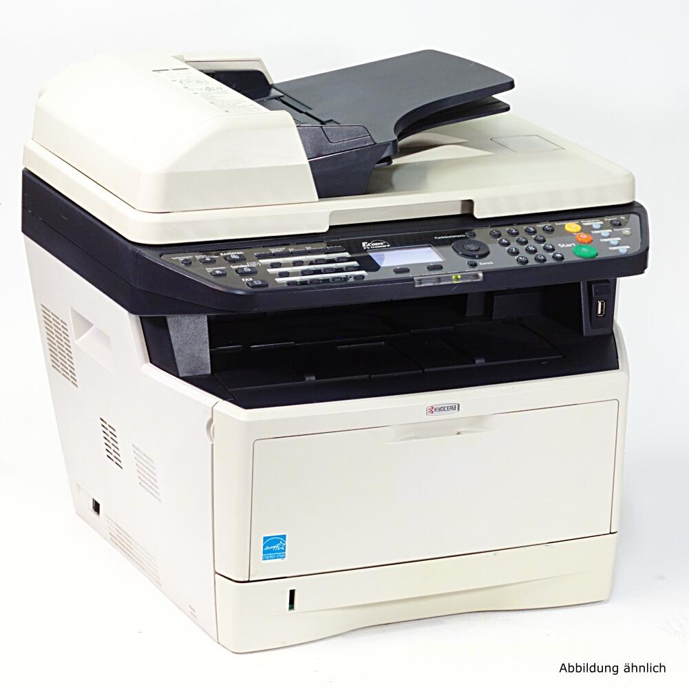 Kyocera Drucker M2030dn Multifunktionsgerät Drucker Kopierer Scanner Fax gebraucht