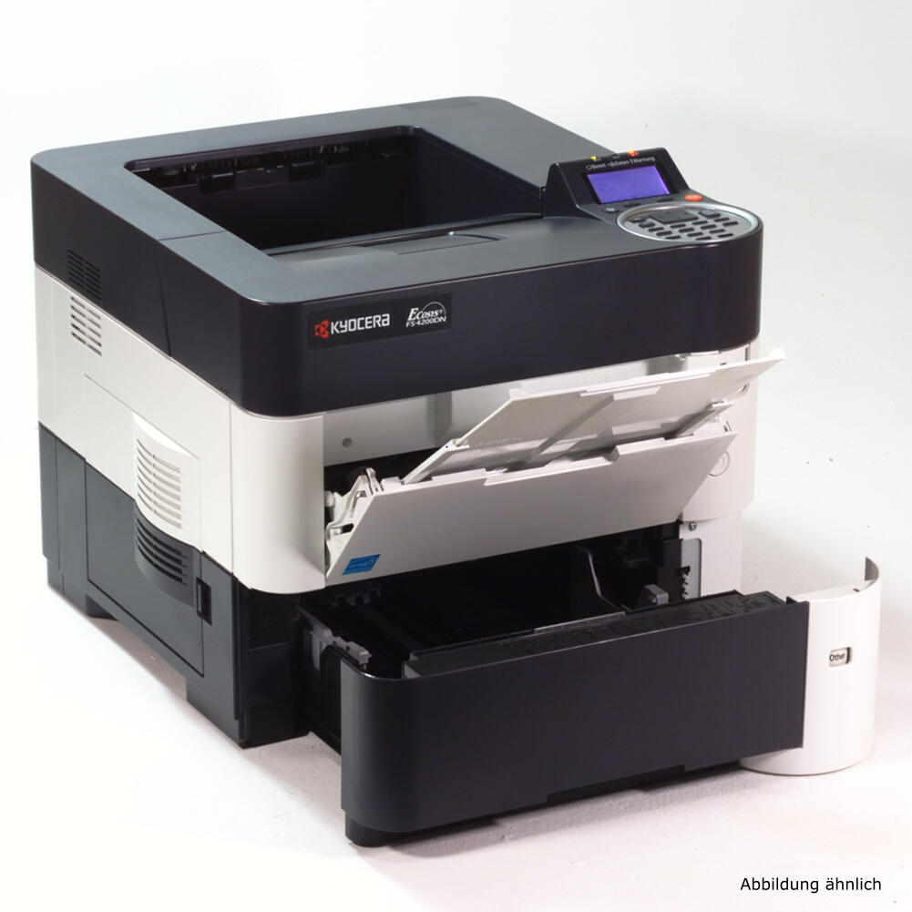 Kyocera FS-4300DN Drucker Duplex Laserdrucker mit Netzwerkkarte gebraucht