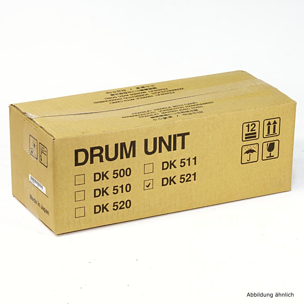 Kyocera Original Bildtrommel Trommel DK521 für Drucker FS-C5025 Drum 302HK93012
