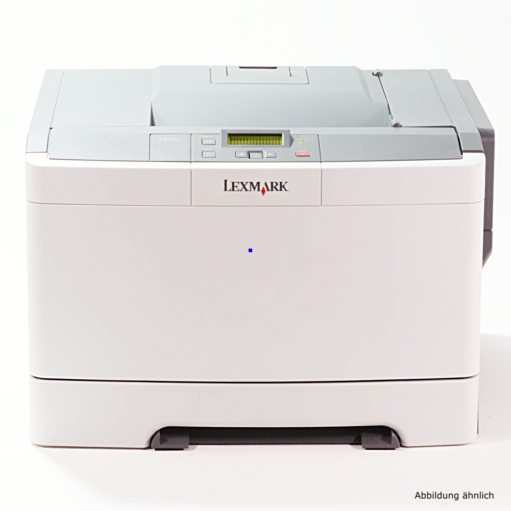 Lexmark C544N Drucker Color Netzwerk Laserdrucker gebraucht unter 50.000 Seiten gedruckt