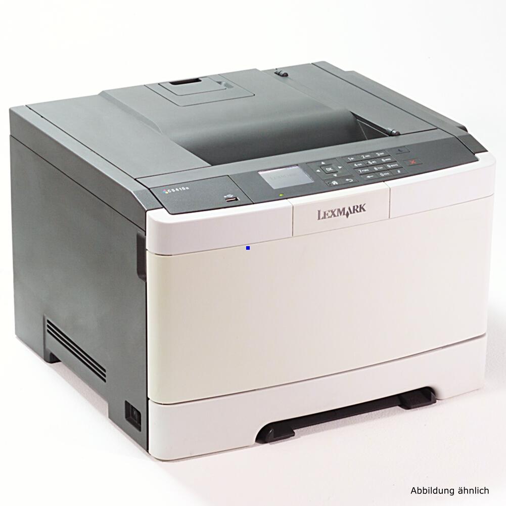 Lexmark CS410DN Color Drucker Laserdrucker gebraucht 38425