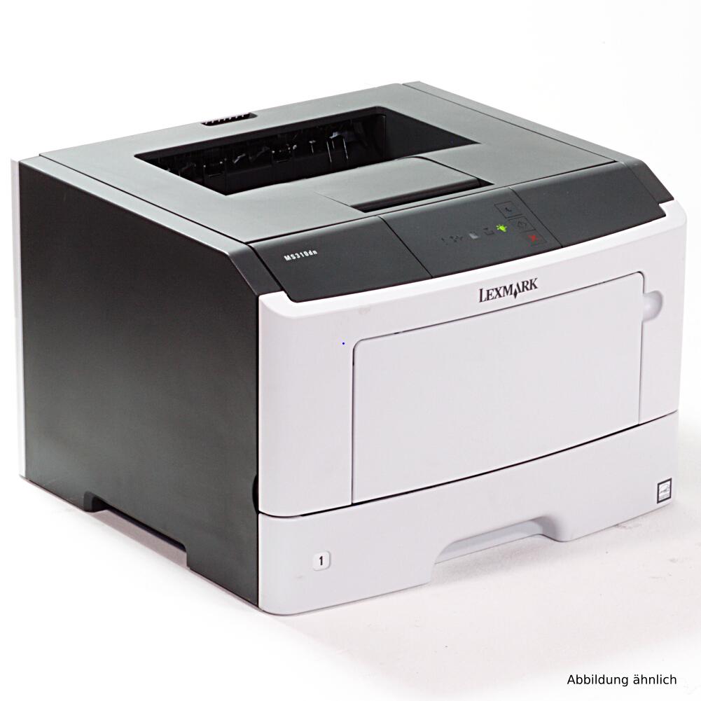 Lexmark MS310DN Drucker Laserdrucker mit Duplex Netzwerk gebraucht unter 30.000 Seiten gedruckt