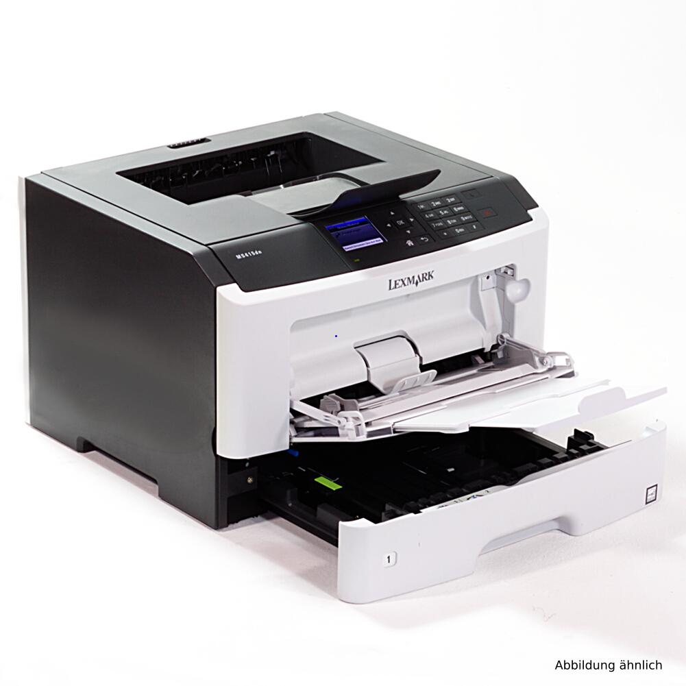Lexmark M1145 DN Drucker mit Netzwerk und Duplex Laserdrucker gebraucht unter 100.000 Seiten gedruckt