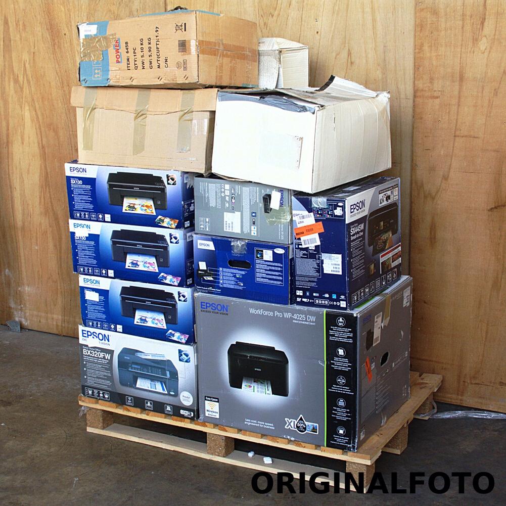 14x Epson Drucker SX130 SX235W WP4025DW X7350  Retouren Restposten