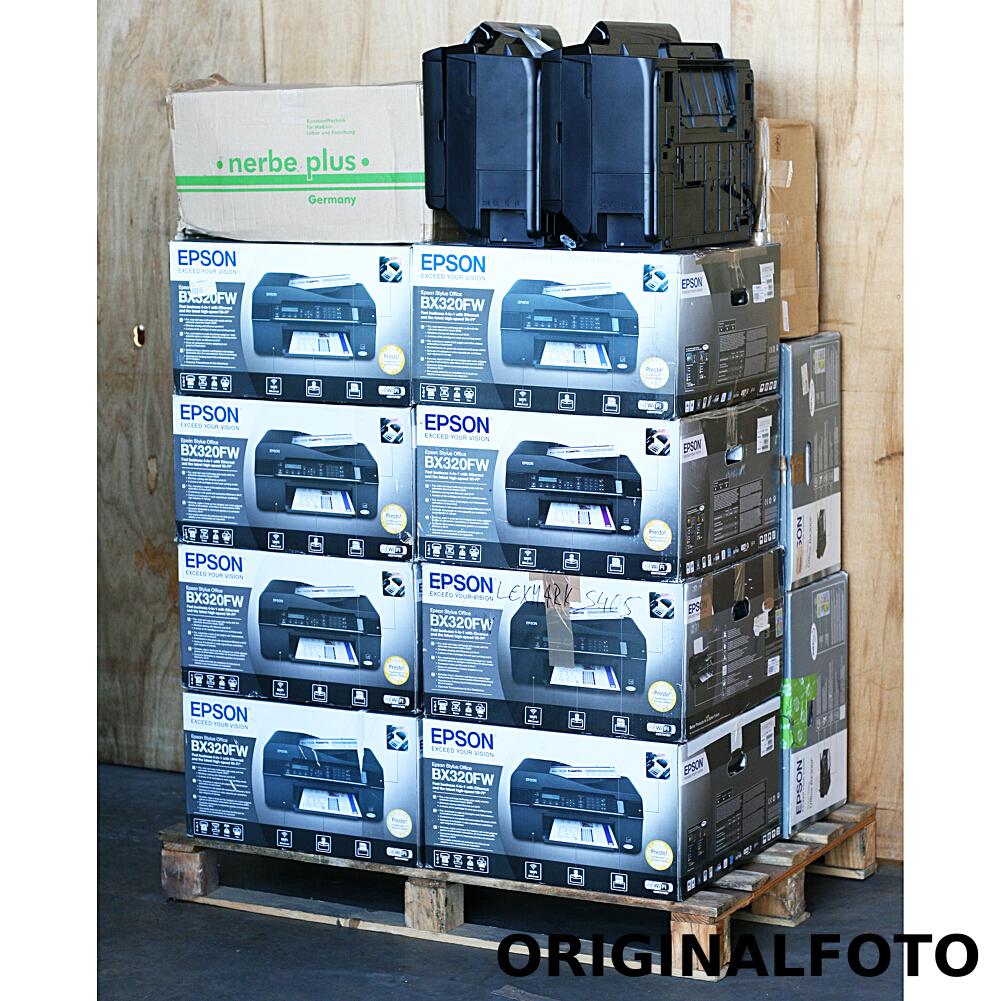 17x Epson Drucker BX320FW BX635FW SX230 SX210 Restposten Retouren
