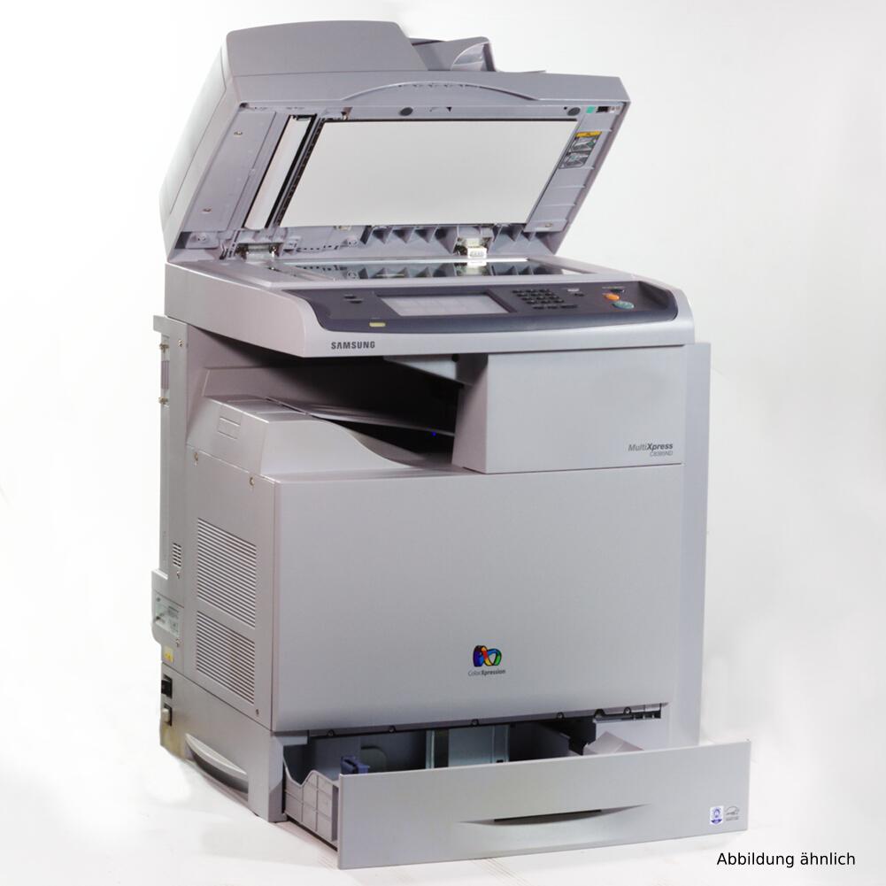 Samsung CLX MultiXpress C8385ND Color Drucker Kopierer Scanner Fax /  61563 seiten