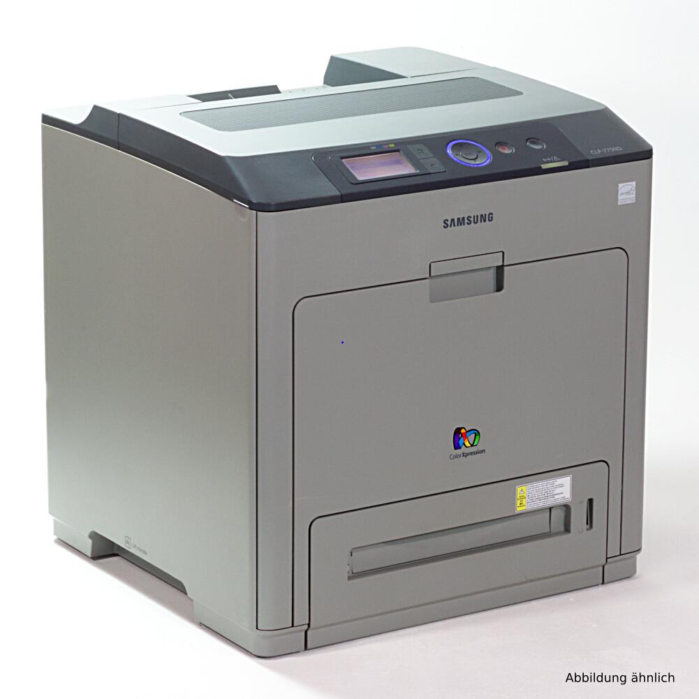 Samsung CLP-775ND / SEE Drucker Color Netzwerk Duplex Laserdrucker gebraucht 69390 Seiten