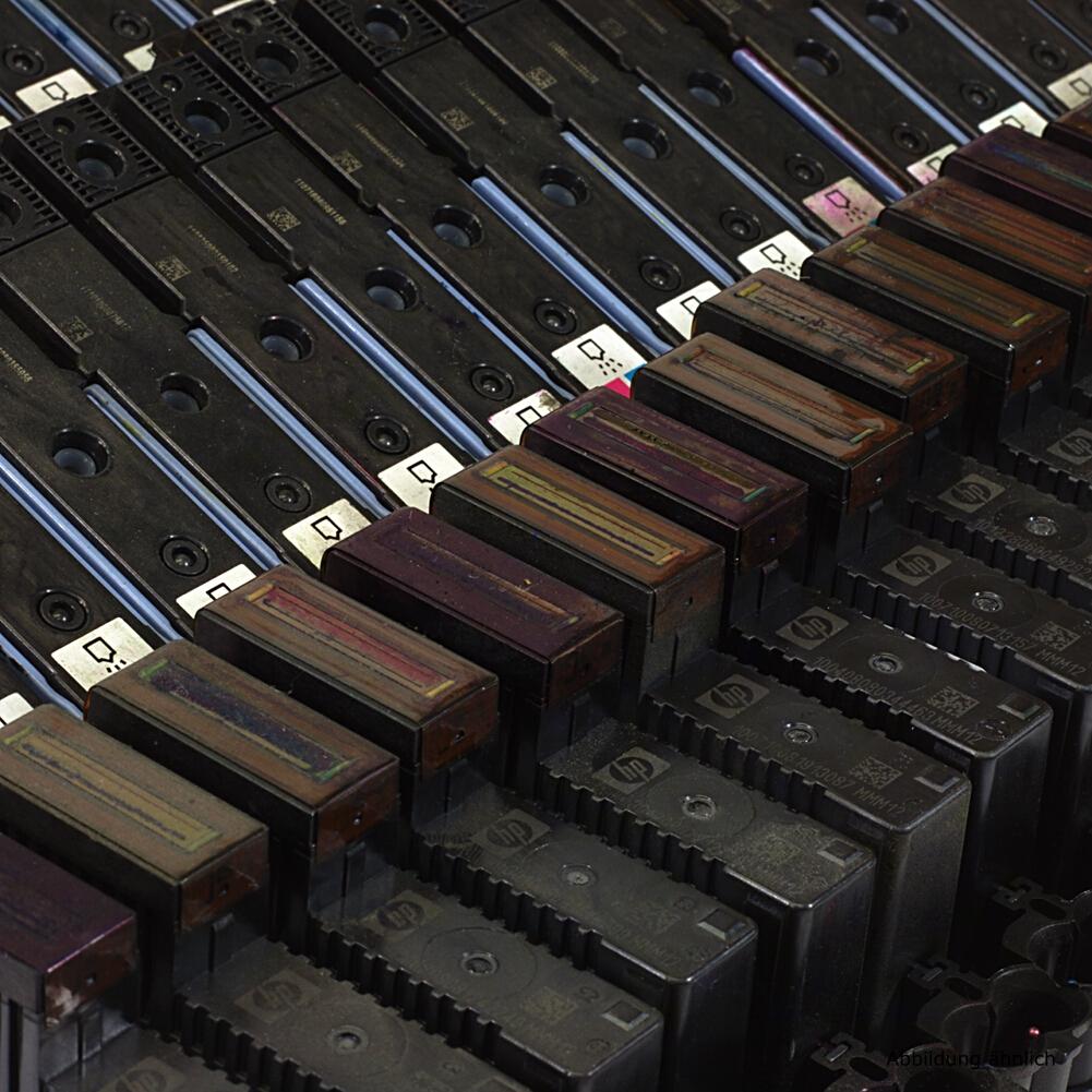 46x HP C3982A Druckkopf Nr. 88 Magenta/Cyan Gebraucht Ungetestet Restposten