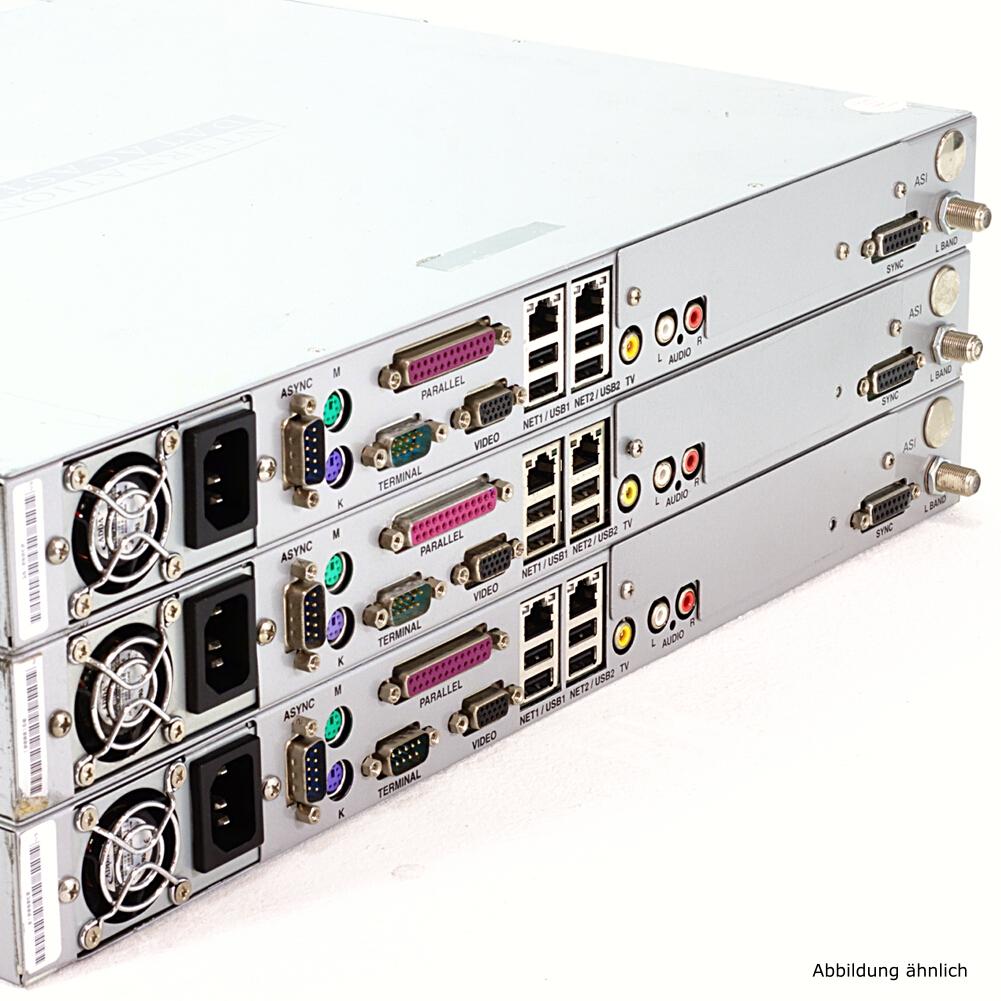 3x International Datacasting IDC SRA 2100 Series Satelite Receiver (DVB)