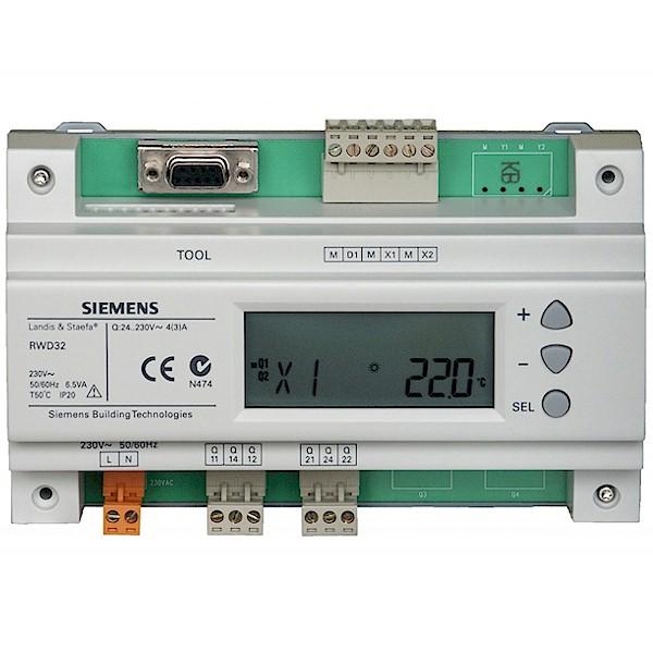 Siemens RWD32 Universal Controller Universalregler Thermostat