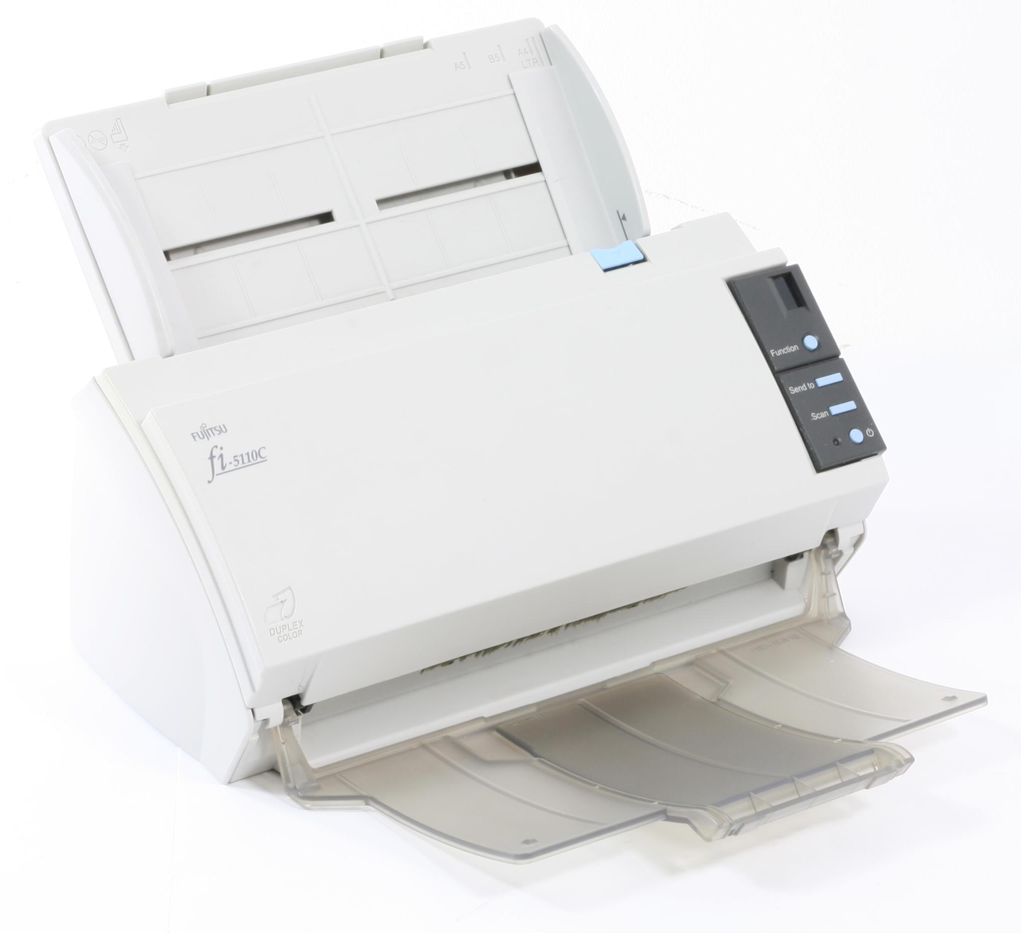 Fujitsu Fi-5120C Scanner Dokumentenscanner Duplex Farbscanner mit ADF gebraucht