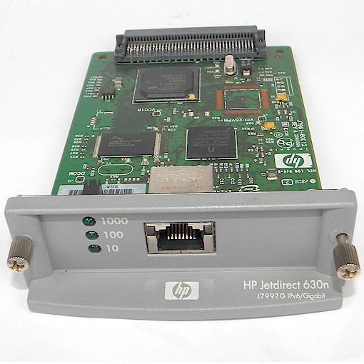 HP Jetdirect 630N J7997G Drucker EIO Netzwerkkarte Printserver gebraucht
