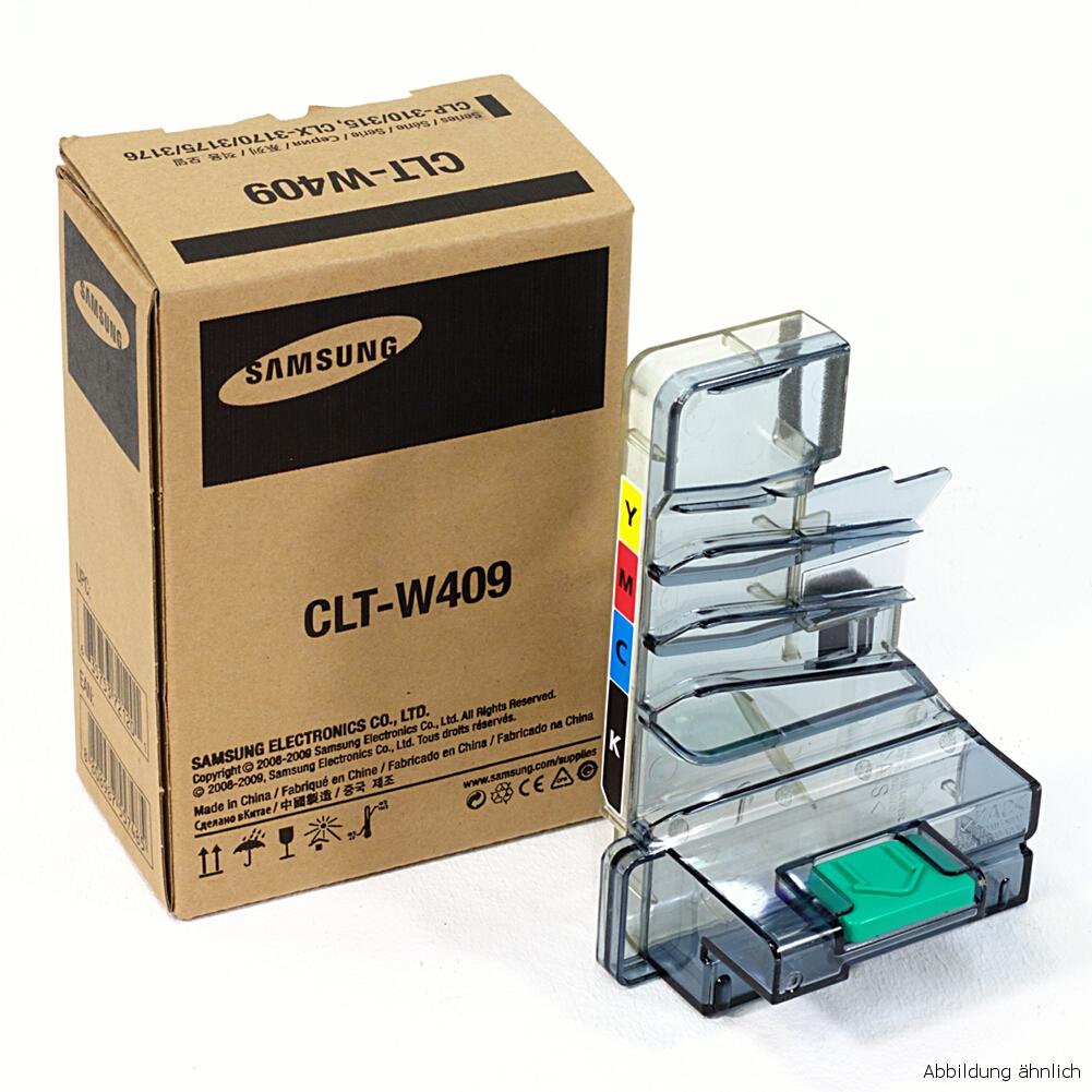 Samsung Original Resttonerbehälter CLT-W409 für Drucker CLP-310 CLP-315 CLX-3175