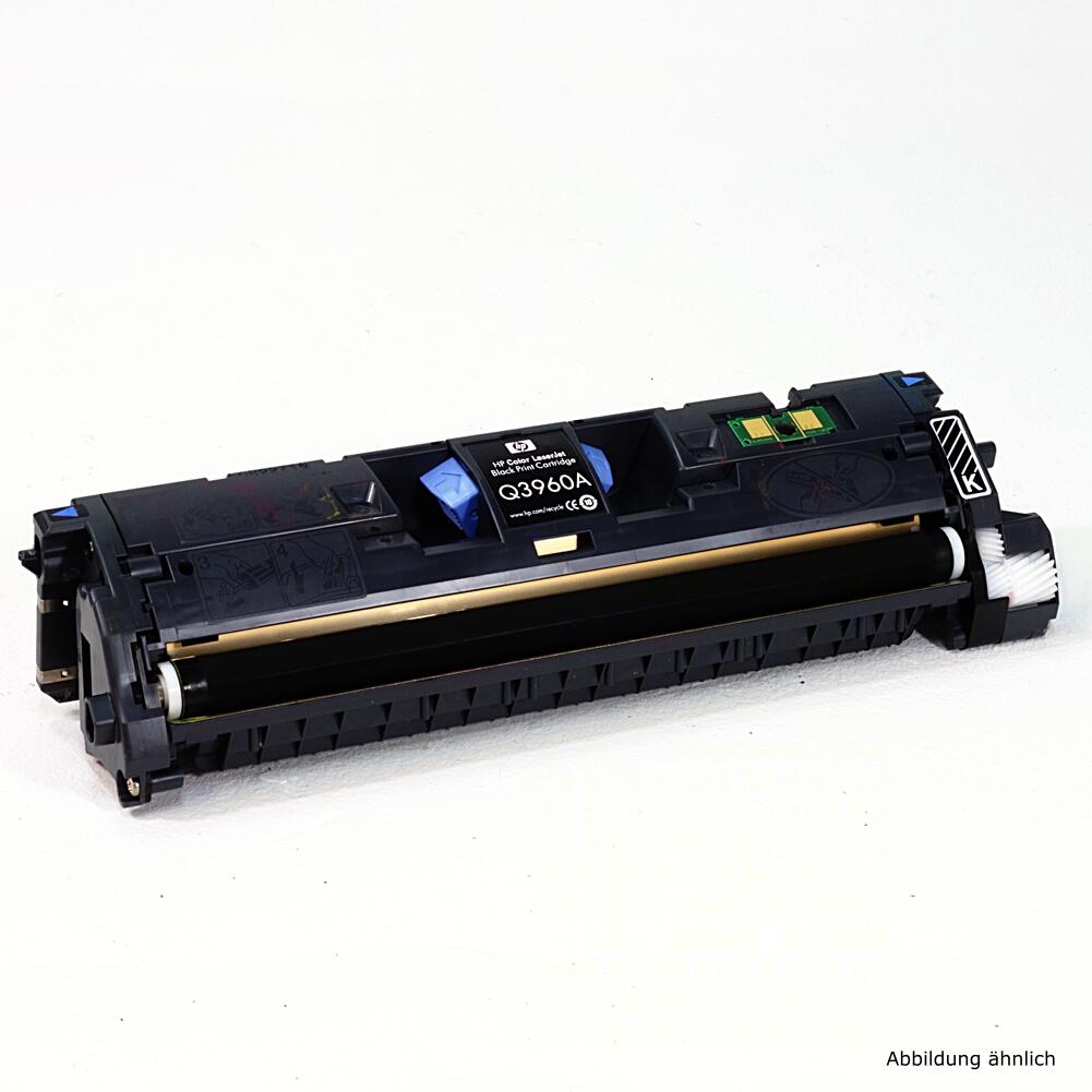 HP Original Toner 122A Black Schwarz Q3960A für 2550 2800 2820 2840 N DN gebraucht   Toner Füllstand 47% Toner
